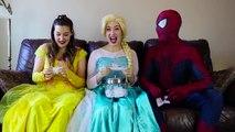 Frozen Elsa SHOPPING ADDICT w_ Spiderman Catwoman Belle Challenge Fun Superhero in real life IRL   Superheroes   Spiderman   Superman   Frozen Elsa   Joker