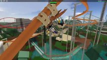 ROBLOX POINT THEME PARK ROLLER COASTER ROLEPLAY   RADIOJH GAMES