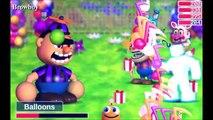 Epic boss battles of history: FNaFs world {all boss battles} [reuploaded]