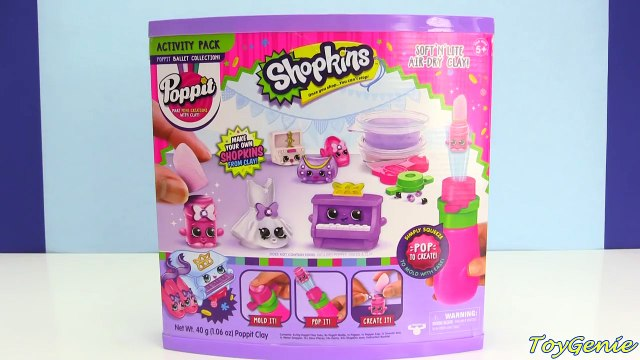 DIY Shopkins Poppit Make Your Own Shopkins with Toy Genie Surprises