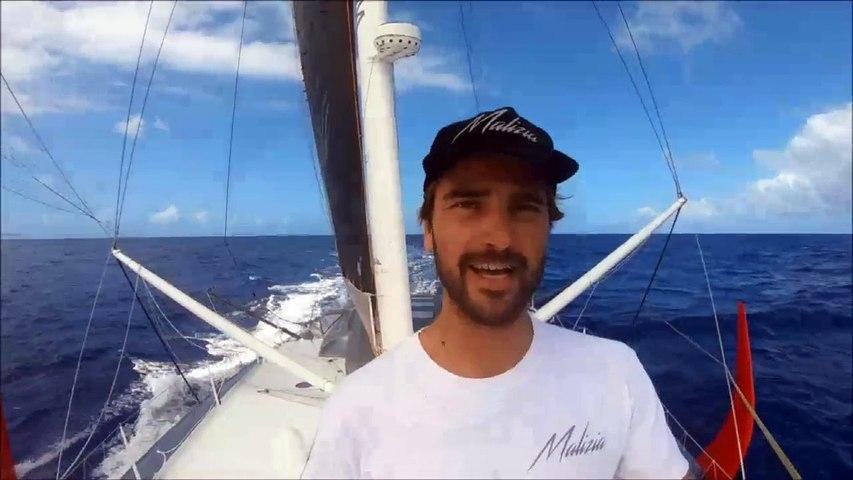 TJV 2017 - Malizia II - Boris Herrmann et Thomas Ruyant - 19/11/2017