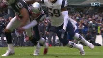 Patriots force Raiders fumble in red zone, Patrick Chung recovers