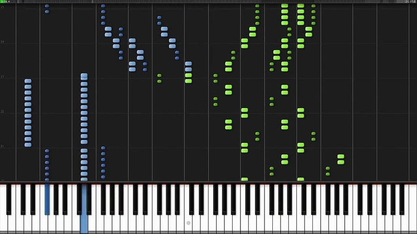 Ode To Joy Symphony No 9 4th Movement Ludwig Van Beethoven Piano Tutorial Synthesia