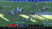 Can't-Miss Play: Los Angeles Chargers defensive end Joey Bosa strip-sacks Buffalo Bills quarterback Tyrod Taylor, linebacker Melvin Ingram scoops for 39-yard TD