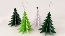 DIY Paper Christmas tree ,  Christmas Decorations ,  How to Make Paper Christmas tree ,  Christmas Ornament