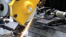 Заточка ножа по задней поверхности на заточном станке ВЗ-384 - VZ-384