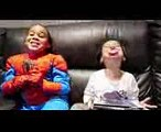 BAD SPIDERMAN TURNS SISTER INTO BAD BABY