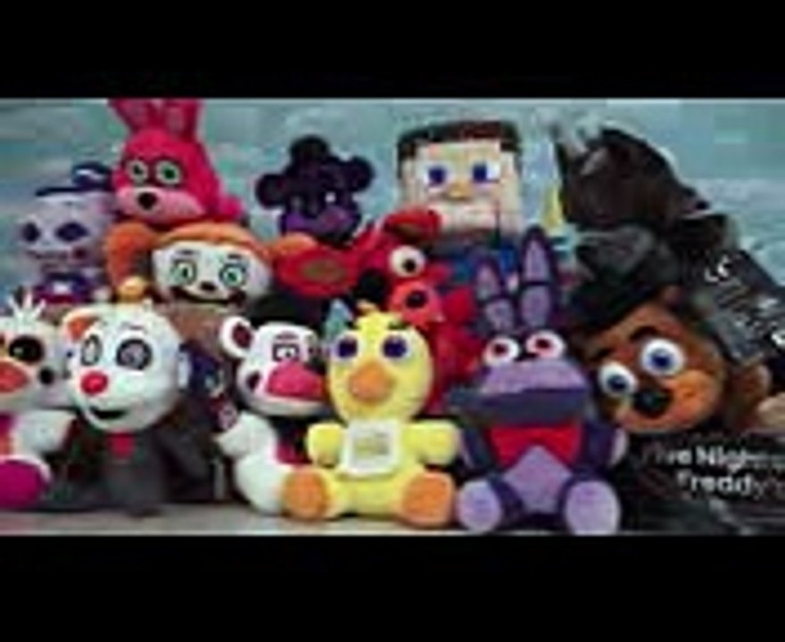 Puppet Steve Minecraft FNAF Toy Unboxings