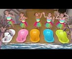 Five little Babies Jumping on the bed song Five funny baby nursery rhyme for children, baby songs