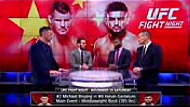 The UFC on FOX crew talks about Michael Bisping's fight against Kelvin Gastelum  UFC ON FOX