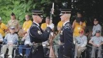 Inspection de fusil à l'armée US (avec bruitages)