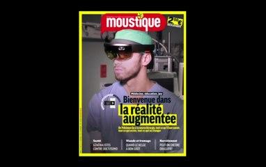 La couverture de Moustique parle !