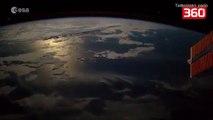Astronauti i Nasa kap ne kamera momentin kur nje UFO hyn ne planetin tone (360video)