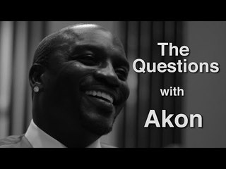 """Akon Answers """"The Questions"""""""