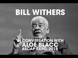 Bill Withers In Conversation With Aloe Blacc At ASCAP EXPO 2015