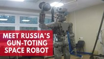 Meet Fedor, Russia's gun-toting space robot, now preparing for a solo flight