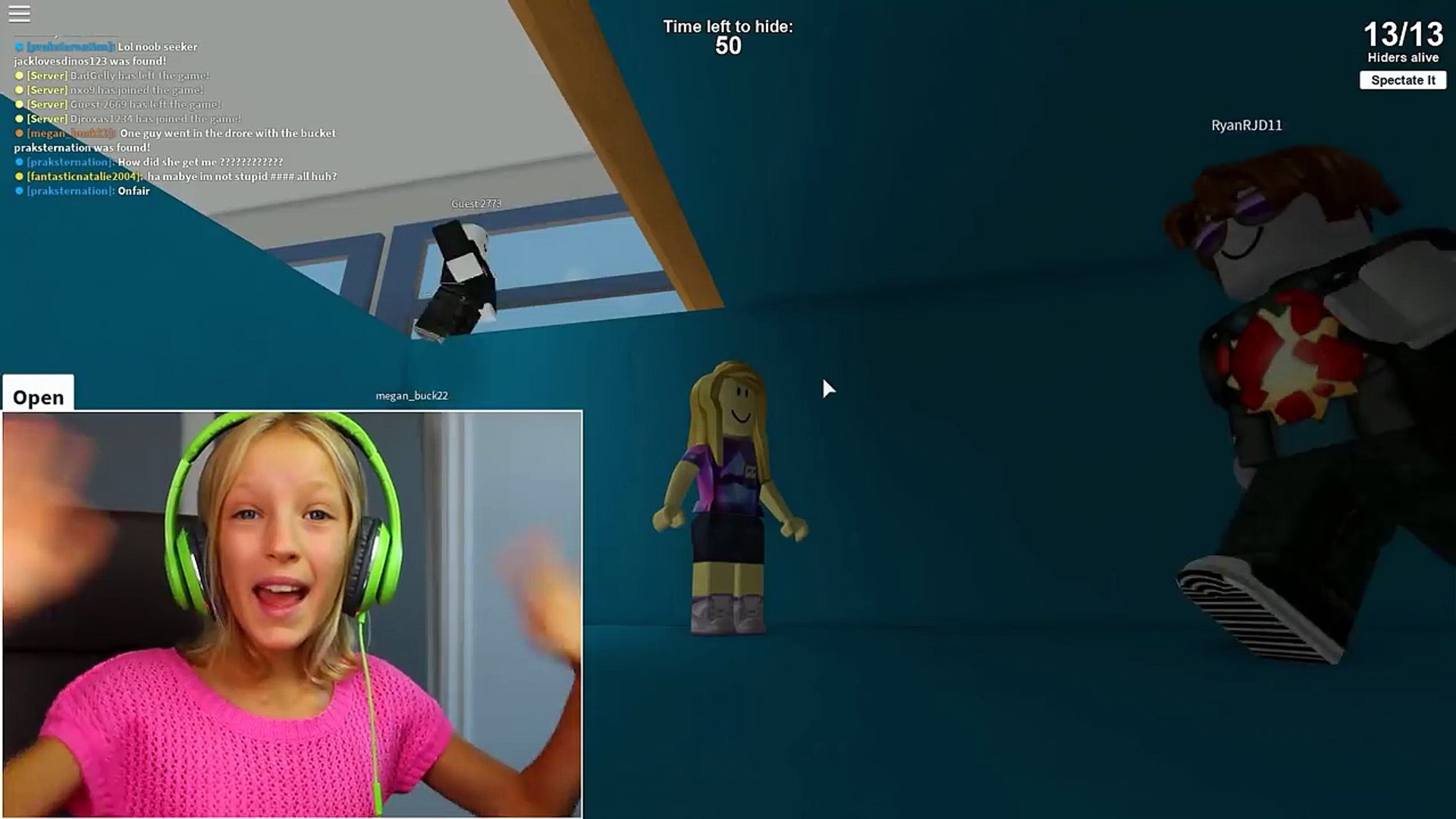 Hide And Seek Extreme Best Hiding Spot Ever Roblox