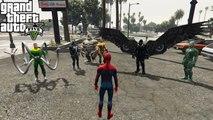 Sinister Six VS The Avengers - Epic Battle (GTA 5) - video