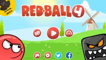 RED BALL 4: Gold Ball epic adventure Volume 3 and 4 with Boss fights