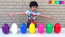 Opening Surprise Eggs and Learn Colors for Children and Toddlers _ Huge Eggs Surprise Toys Colours-mq6g_ukk5H8