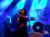 Nightwish live à Hambourg Sleeping sun