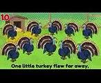 Thanksgiving Songs for Children - Ten Little Turkeys - Turkey Kids Songs by The Learning Station (1)
