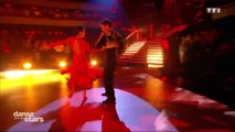 Agustin Galiana embrasse Candice Pascal dans Danse avec les Stars