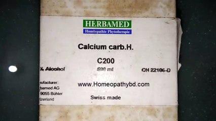 Calcium Carb 200 Homeopathy medicine – Switzerland