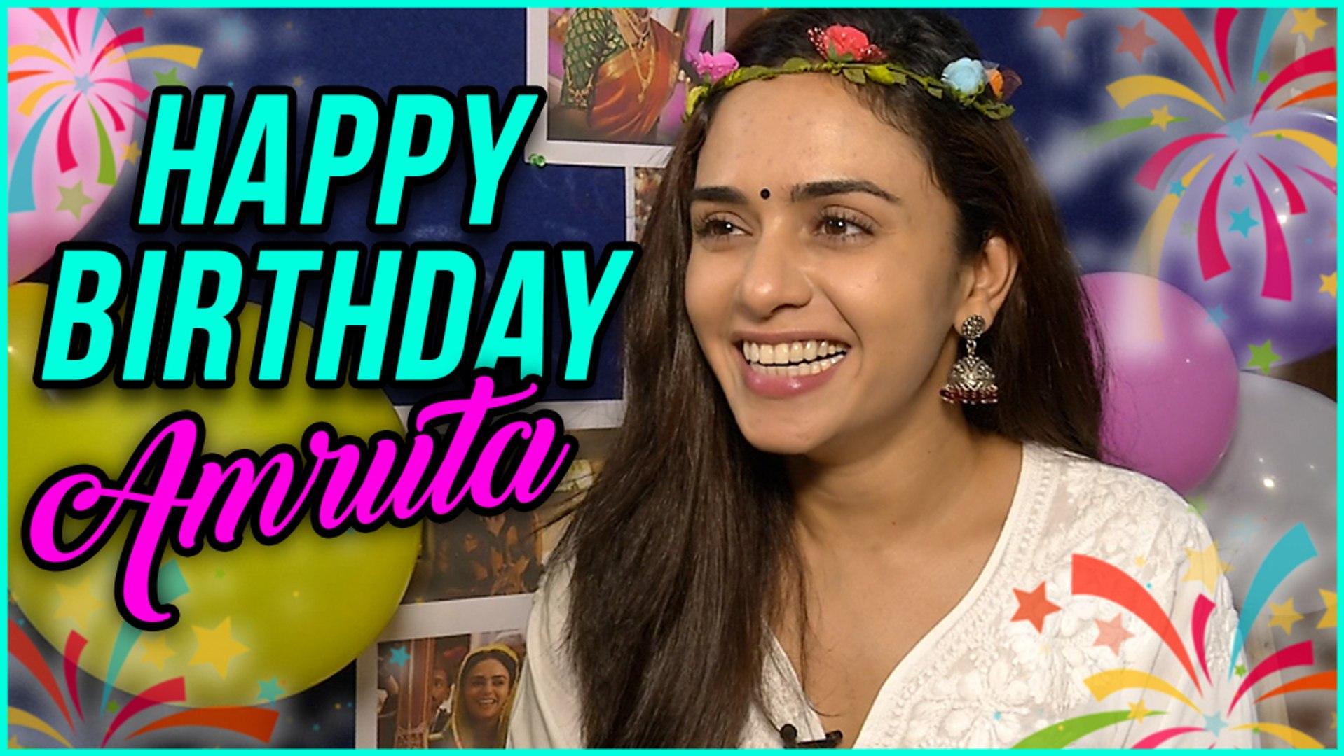 Amruta Khanvilkar Celebrates Her Birthday With Kids | Special Event 2017 | Marathi Entertainment