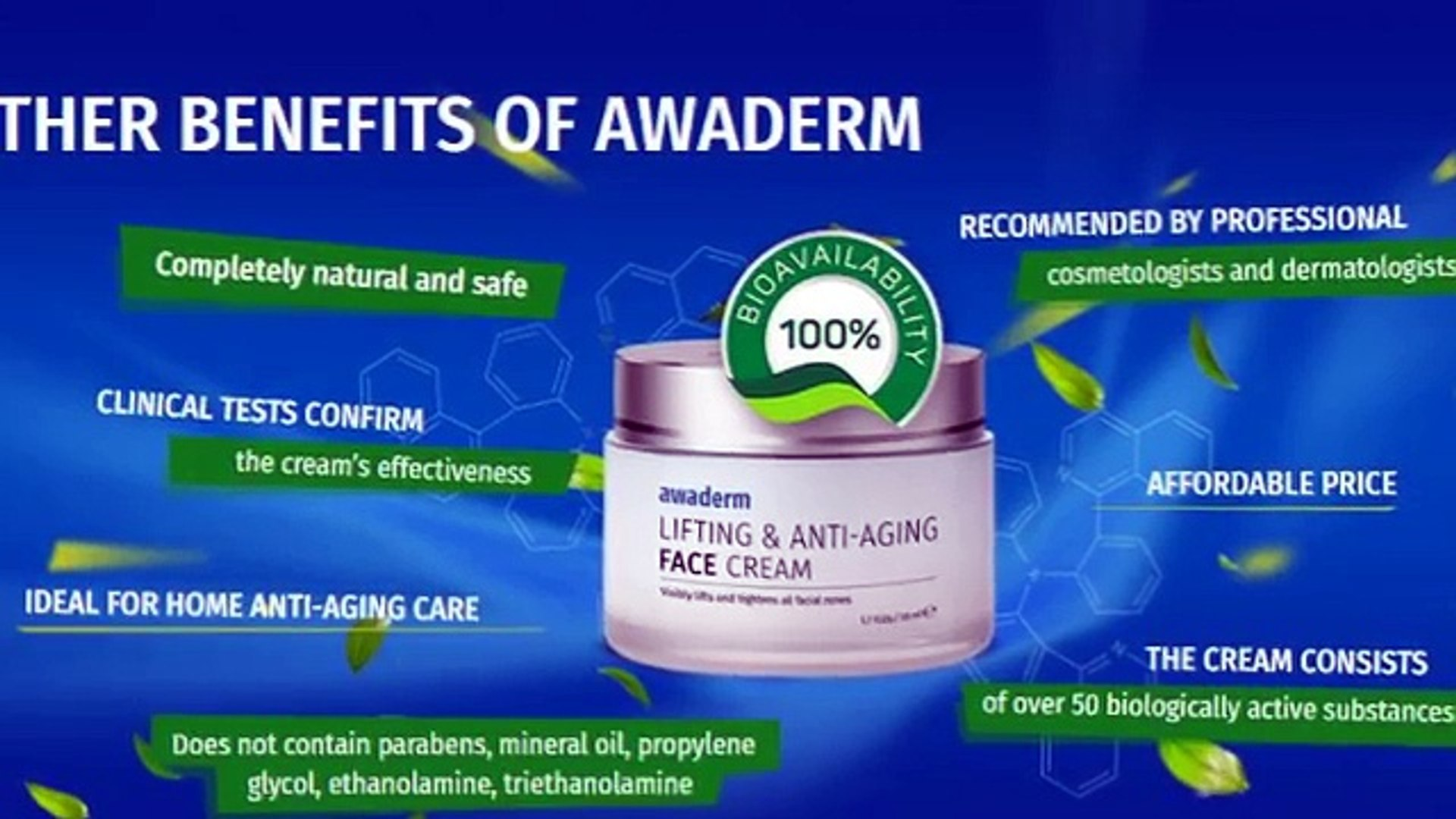 Awaderm Cream Reviews Video Dailymotion