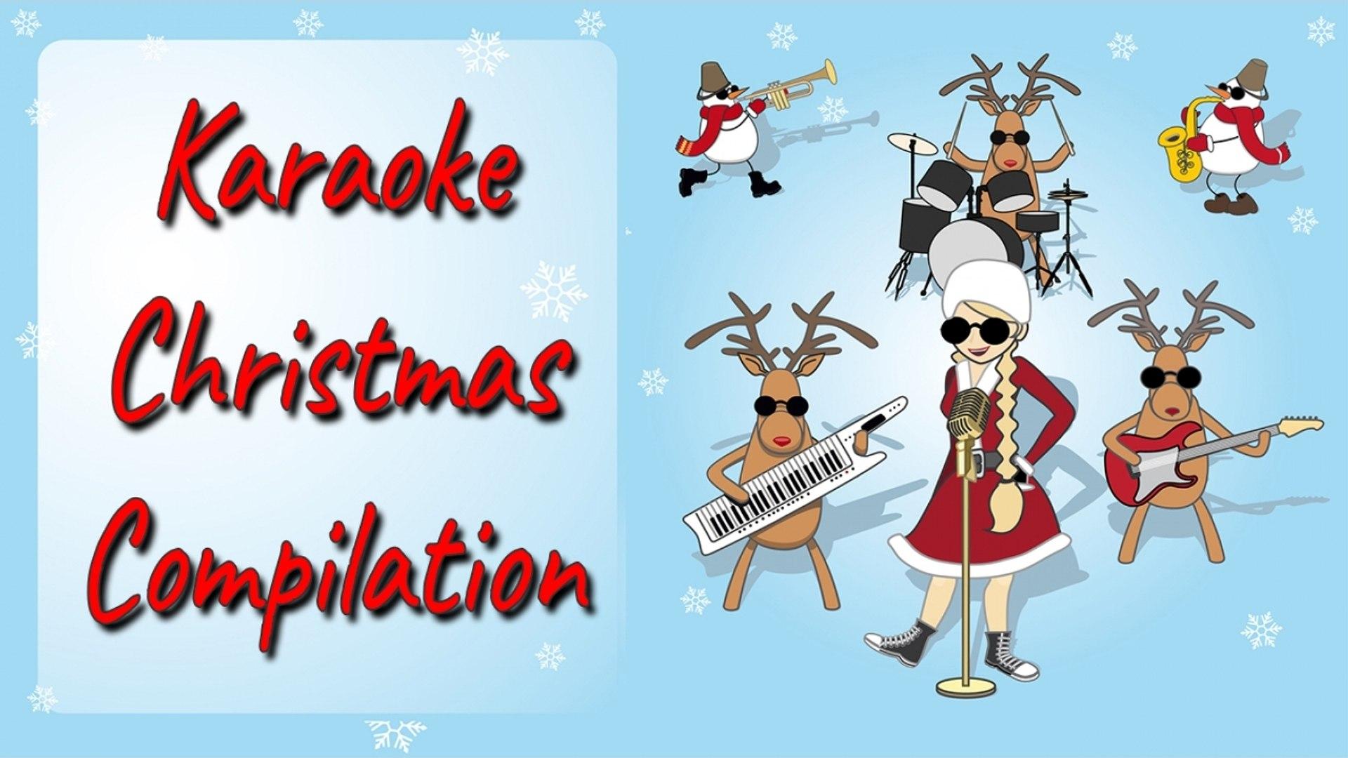 Auguri Di Buon Natale Karaoke.Sa Natale Karaoke Compilation Per Bambini Le Piu Famose Canzoni Inglese Di Natale Da Cantare