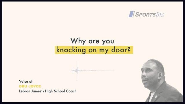 High School Coach Dru Joyce on Recruiting LeBron James