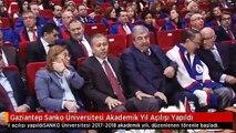 Gaziantep Sanko Üniversitesi Akademik Yıl Açılışı Yapıldı