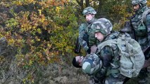 Le 1er régiment de Spahis en exercice « MedicHos » avec ses équipes sanitaires