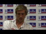 Peter Crouch backs Jedward and a World Cup WAG ban!