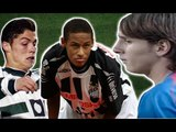 How 20 Of The World's Best Footballers Looked On Their Debuts | Then And Now