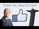 Arsenal Fans' Say Thanks Facebook Video For Arsene Wenger