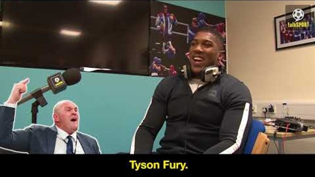 Anthony Joshua Impressions Of Tyson Fury, Deontay Wilder And Joseph Parker