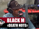 "Black M ""Death Note"" #PlanèteRap"