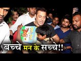 Salman Khan has A BIG HEART, Helped Liver Transplant Patient Kid