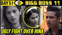 Bandgi & Puneesh UGLY FIGHT Over Hina Khan | Bigg Boss 11 Day 51 | 21st November 2017 Episode Update