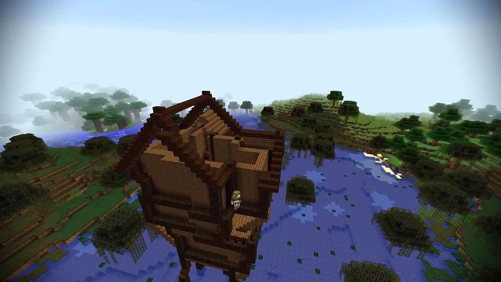 Lets Transform a Minecraft Witch Hut!