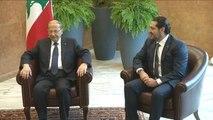 """Liban : Hariri annonce que sa démission est """"en suspens"""""""