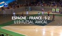 Futsal U19, Amical : Espagne - France (5-2), le résumé I FFF