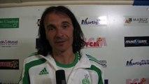 FCM / ASSE 2-2. l'entraîneur des Verts livre sa tactique pour faire chuter Martigues