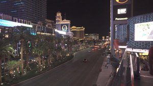 A Living Postcard From Las Vegas Strip