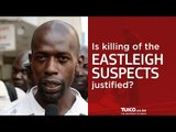 Eastleigh suspects gunned down by the police - was this justified?