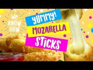 How to make mouthwatering mozzarella sticks