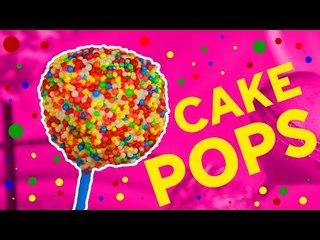 Easy homemade no bake cake pops