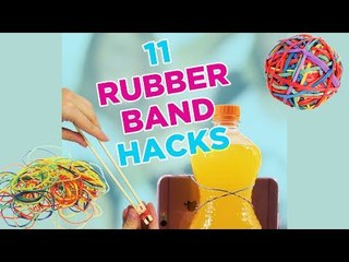 Cool hacks with rubber bands!